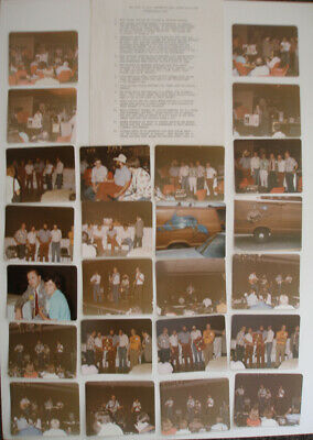 1978 Buddy Holly 24 Original Photographs Of First Bhms Convention By Bill Griggs • 50£