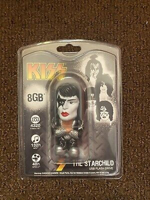 KISS Paul Stanley USB 2.0 Flash Drive 8GB - The Starchild Brand New In Package • 11.78£