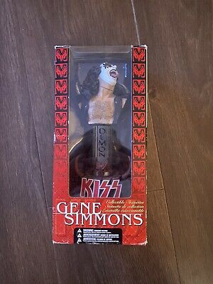 Gene Simmons Doll Collectable Statuette • 35£
