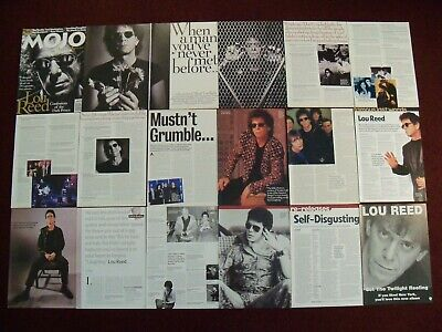 Lou Reed - Velvet Underground - John Cale Magazine Clippings - Perfect Day • 2.50£