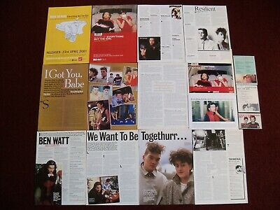 Everything But The Girl Magazine Clippings - Missing - Two Star - Worldwide • 1.75£