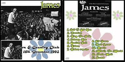 James Live At The Town & Country Club 1992 Recording CD Sound Sit Down Johhny Ye • 4.99£