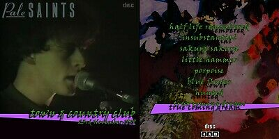 PALE SAINTS Live At The Town And Country Club 1989 Memorabilia CD • 4.99£