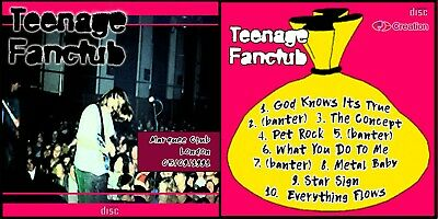 Teenage Fanclub Live At The London Marquee 1991 CD Bandwagonesque • 4.99£