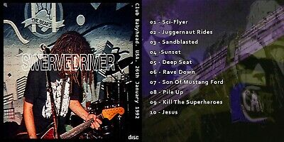 SWERVEDRIVER Vintage CD Club Babyhead 1992 Live Rave Down Sci-Flyer Mustang Ford • 4.99£