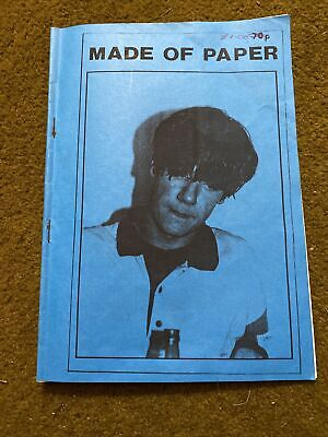 The Stone Roses Made Of Paper Fanzine Issue 1 1989 • 25£