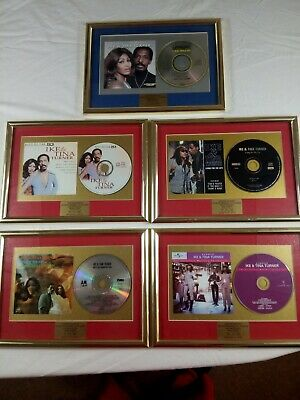 5 X Tina And Ike Turner Framed CD's Limited Edition 001/500 MBA • 14.75£