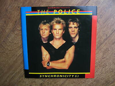 1983 The Police Synchronicity Tour Programme & Ticket: Birmingham Arena: Music. • 5.99£