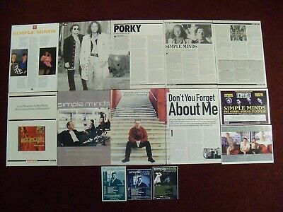 Simple Minds Magazine Clippings - Alive And Kicking - Waterfront - Belfast Child • 1.75£