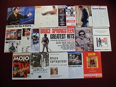 Bruce Springsteen Magazine Clippings - Born To Run - Born In The USA - The Boss • 3£