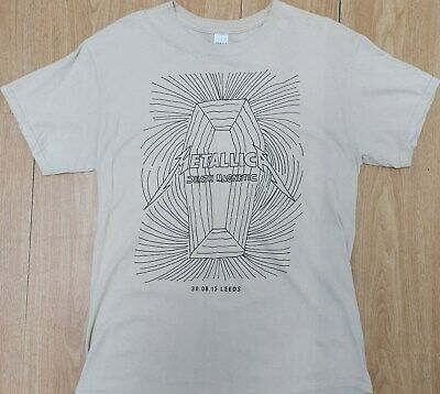 Rare Metallica Death Magnetic Onstage Fanclub T-shirt Leeds Festival Pushead • 44.99£