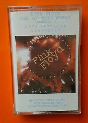 Pink Floyd - Out Of This World Cassette 1, Live Satellite Broadcast, Cassette • 15£