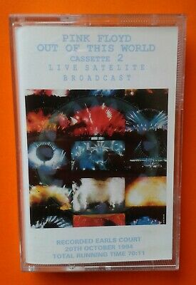 Pink Floyd - Out Of This World Cassette 2, Live Satellite Broadcast, Cassette • 15£