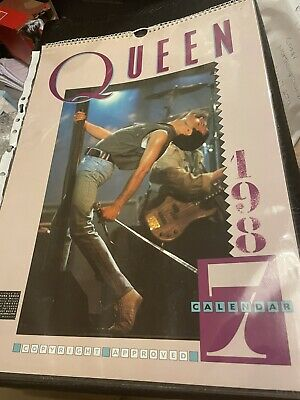 Queen 1987 Diff Limited Edition Calendar Excellent • 10£
