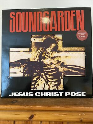 "Soundgarden Jesus Christ Pose Etched 12"" Vinyl Signed By All 4 Band Members 1991 • 1,490£"