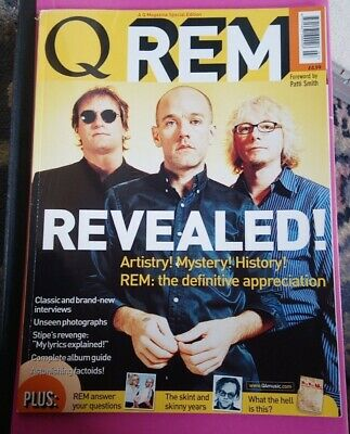 R. E. M. Revealed! Q Magazine Special Edition 2001 & Michael Stipe's DerriÈre 🙈 • 6£