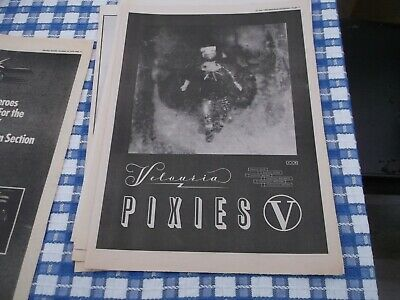 The Pixies Velousia  Album Release  Poster 1990 For Framing • 5£