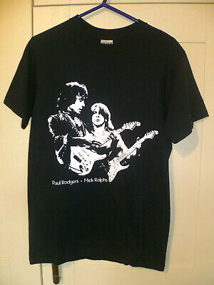 Bad Company - Vintage  Paul Rodgers & Mick Ralphs  Black T-shirt (s)  • 7.99£