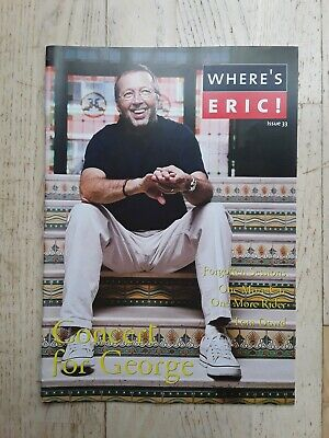 Eric Clapton  Where's Eric!  Fanzine Issue 33, Feb 2003 (now Out Of Print) • 3£