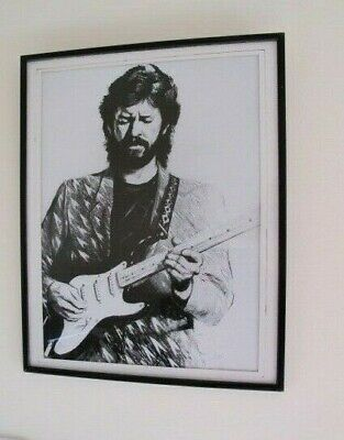 ERIC CLAPTON 1988  CROSSROADS  25 Years Lithograph Print By Ronnie Wood  • 450£