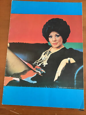 Shirley Bassey British Tour Programme 1973 • 3.99£