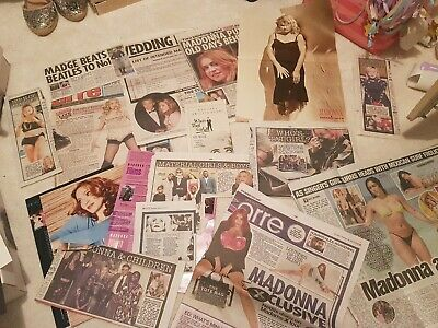 Madonna Newspaper Clippings  • 1.99£