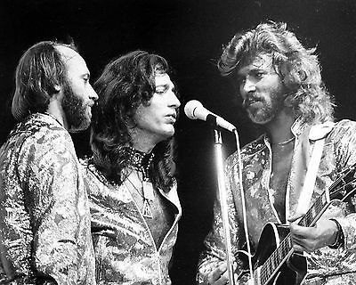 Bee Gees 10  X 8  Photograph No 43 • 3.50£