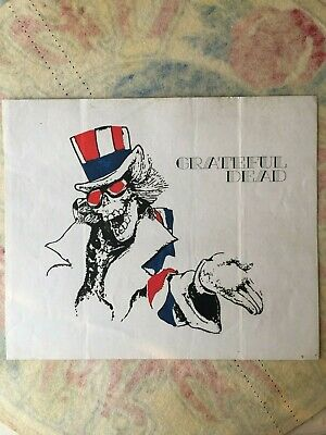 Extremely Rare -Grateful Dead  Uncle Sam  Sticker  • 11.44£