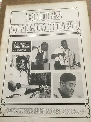 Blues Unlimited Three Issues No68, 104, 107 • 10£