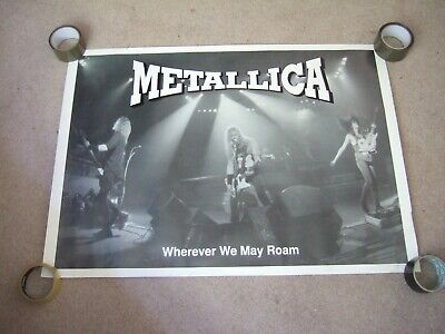 Metallica Poster From 1996 • 4.99£