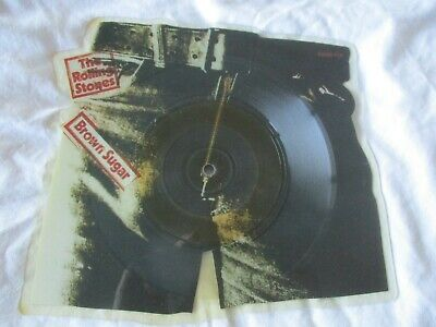 Rolling Stones Brown Sugar Shaped Vinyl Picture Disc Single • 39.99£