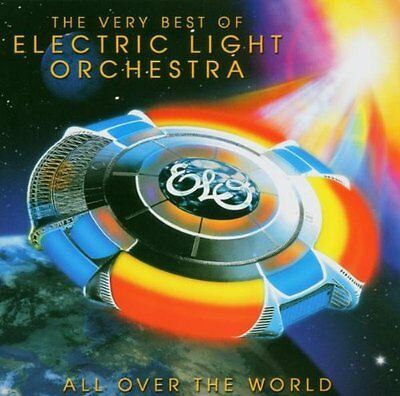 Electric Light Orchestra All Over The World Cd Album Greatest Hits/very Best Of • 5.94£