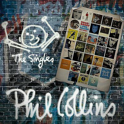 PHIL COLLINS THE SINGLES 2 CD SET (Greatest Hits) (14/10/2016) • 6.25£