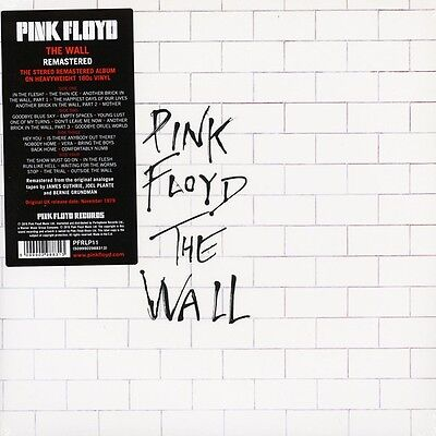 PINK FLOYD THE WALL REMASTERED 2-LP VINYL ALBUM SET (2016) (Pink Floyd Records) • 19.94£