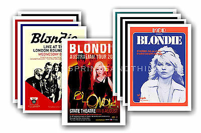 BLONDIE  - 10 Promotional Posters - Collectable Postcard Set # 2 • 5.99£
