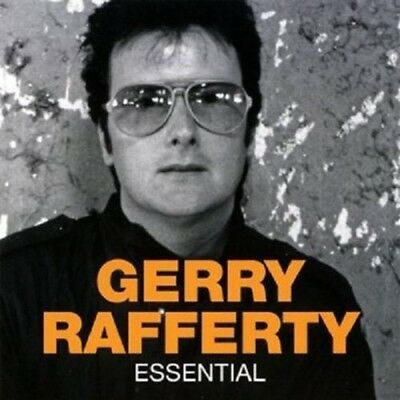 GERRY RAFFERTY THE ESSENTIAL CD (BEST OF/GREATEST HITS) Includes BAKER STREET • 4.95£