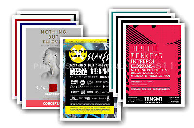 NOTHING BUT THIEVES - 10 Promotional Posters  Collectable Postcard Set # 2 • 5.99£
