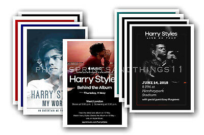 HARRY STYLES - 10 Promotional Posters  Collectable Postcard Set # 3 • 5.99£