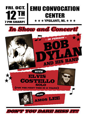 BOB DYLAN  - Postcard Collection - 100 Different Promo Poster Postcards # 5 • 49.99£