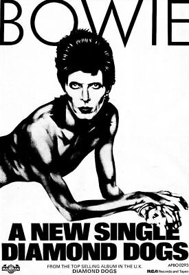 DAVID BOWIE  - Postcard Collection - 100 Different Promo Poster Postcards # 2 • 49.99£