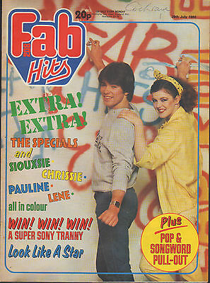 Fab 208 Magazine 26 July 1980    The Specials • 25£