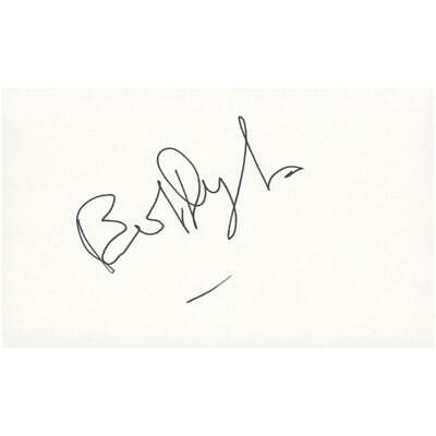 Bob Dylan Photograph Mounted With His Signature • 650£