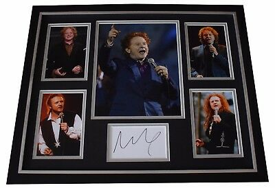 Mick Hucknall SIGNED Framed Photo Autograph Huge Display Simply Red Music COA • 249.99£