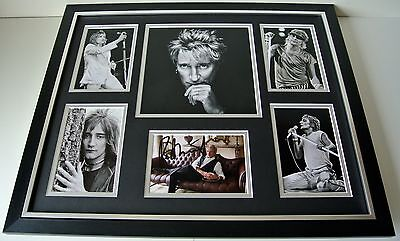 Rod Stewart SIGNED FRAMED Photo Autograph Huge Display Maggie May Music & COA • 129.99£