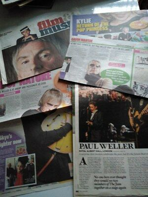 Paul Weller : Press Features Cuttings, Mod, Britpop, The Jam • 3.99£