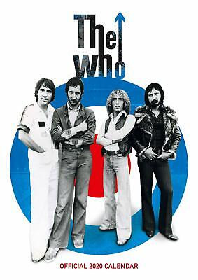 The Who (new Official 2020 Wall Calendar) • 9.99£