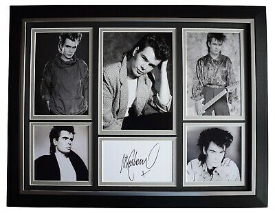 Nik Kershaw Signed Autograph 16x12 Framed Photo Display Music The Riddle COA • 109.99£