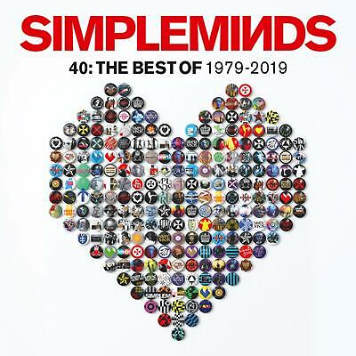 SIMPLE MINDS 40: THE BEST OF 1979-2019 CD (Greatest Hits / Very Best Of) (2019) • 5.98£