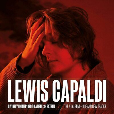 LEWIS CAPALDI DIVINELY UNINSPIRED TO A HELLISH EXTENT CD (Expanded Edition 2019) • 6.60£