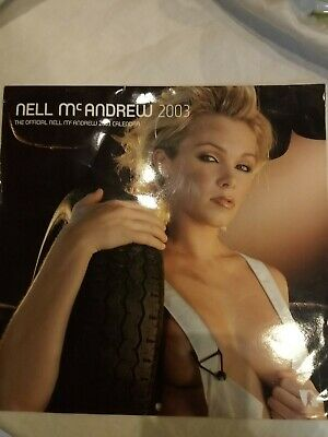 Rare Official Nell Mcandrew Calendar 2003 Gc- Collectors Item • 19.50£